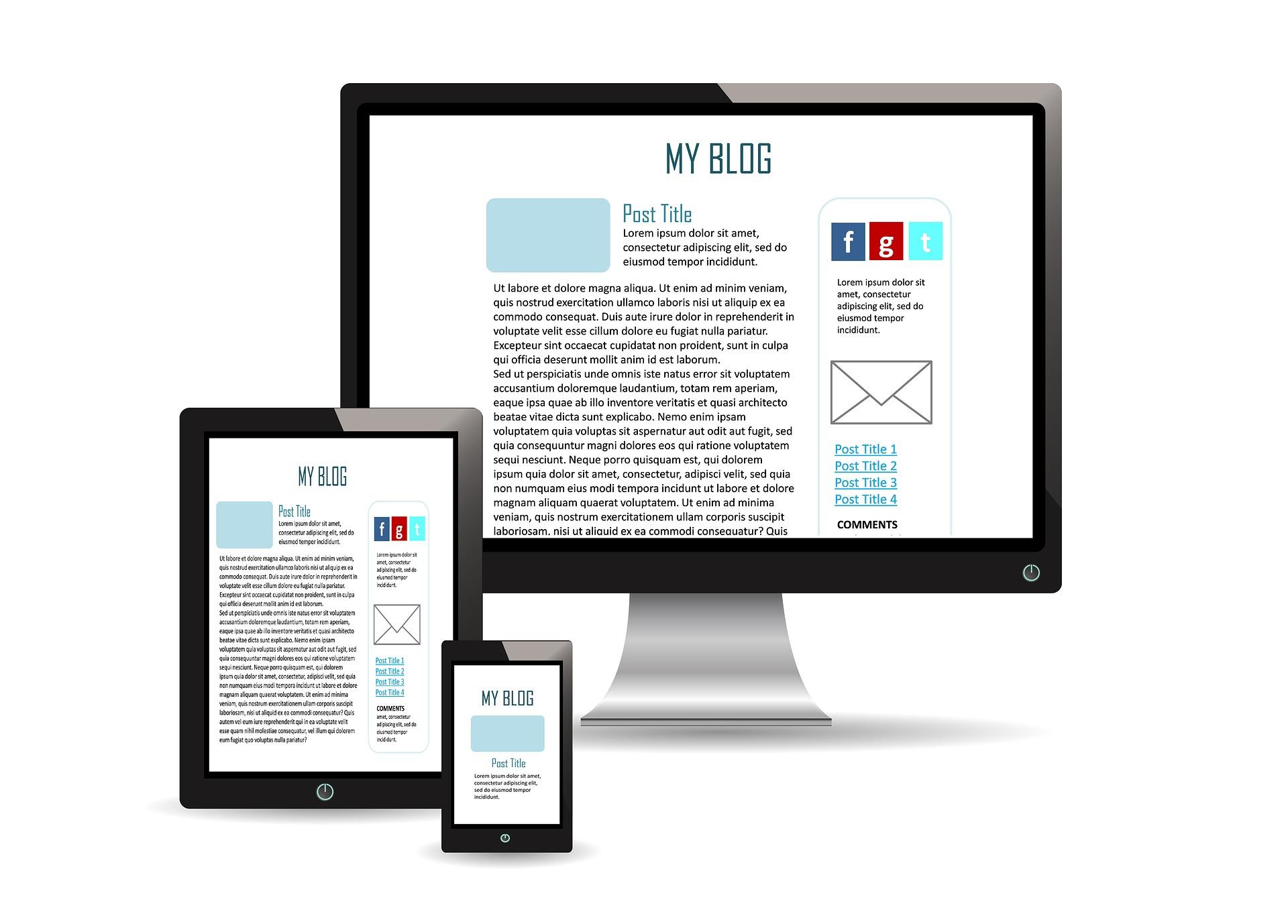blog como pagina web wordpress