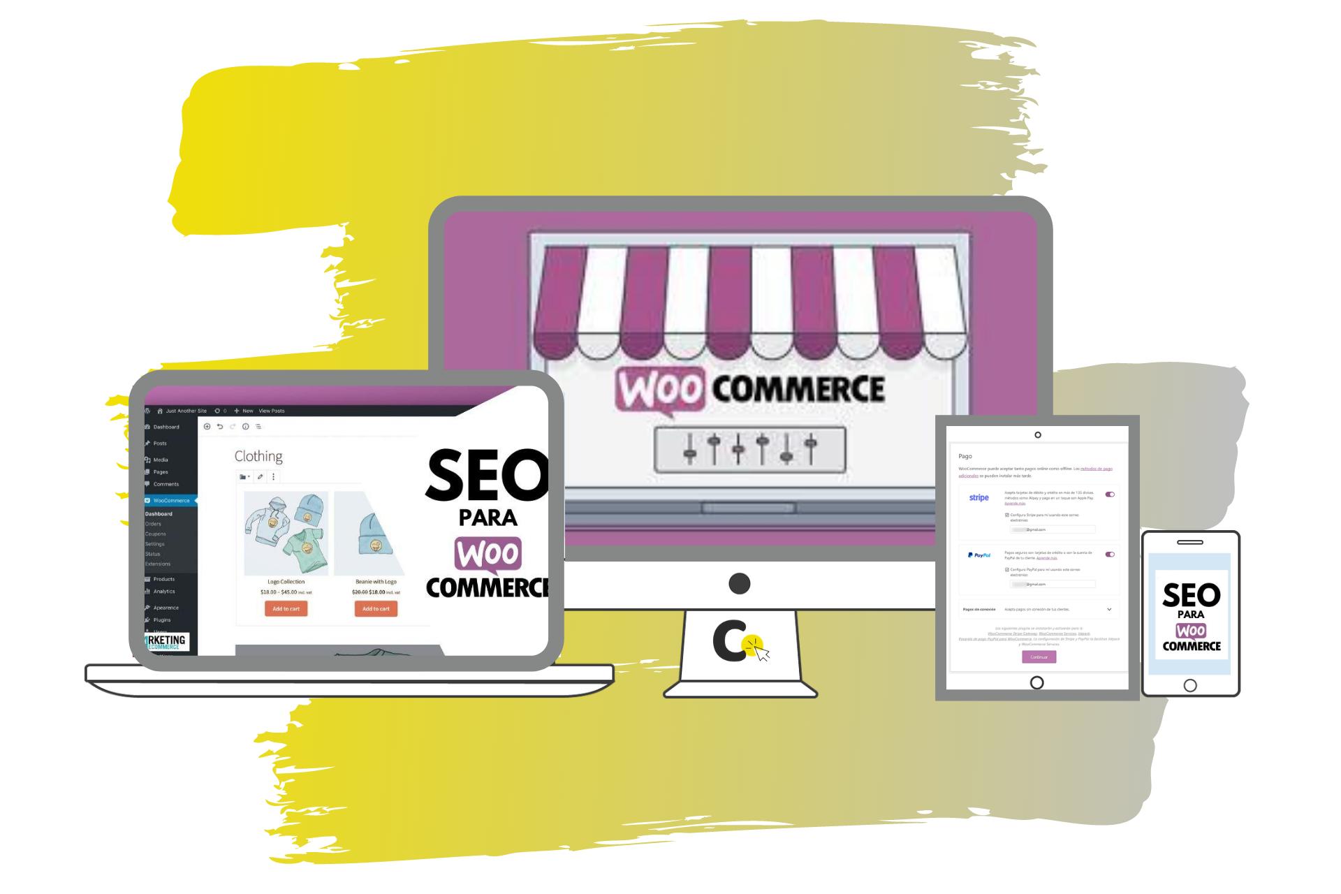 pagina web con woo commerce