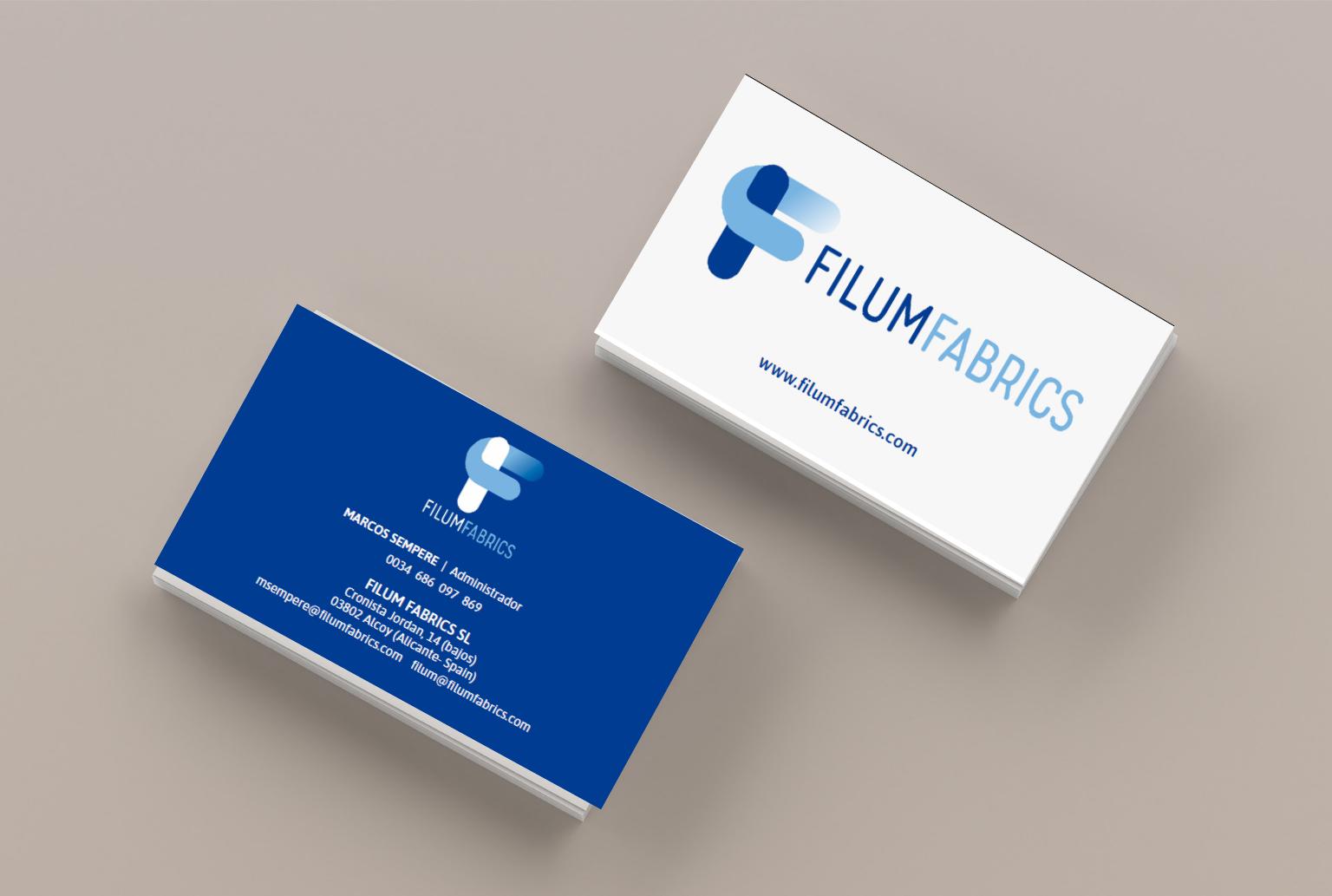 diseño de tarjeta de visitas y logos